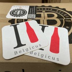 3 sous bock I Love Belgicus