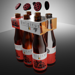 6 Pack Belgicus RED