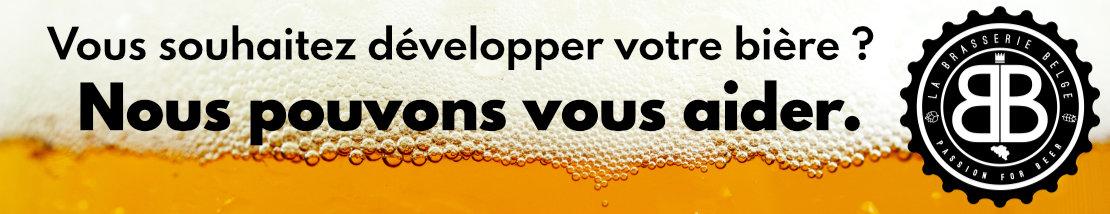 La brasserie belge brasse les Belgicus et également d'autres bières. Pourquoi pas la votre ?